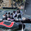 Royalty-Free Stock Photo: Alinghi compete in the Extreme Sailing Series