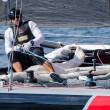 Stock Photo: Alinghi compete in Extreme Sailing Series