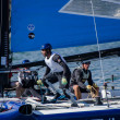 The Wave - Muscat compete in the Extreme Sailing Series — Stock Photo #11537047