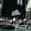 ZouLou compete in the Extreme Sailing Series — Stock Photo #11537104