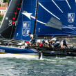 Stock Photo: Groupe Edmond de Rothschild compete in Extreme Sailing Serie