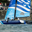 Stock Photo: Wave - Muscat compete in Extreme Sailing Series