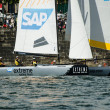 SAP Extreme Sailing Team compete in the Extreme Sailing Series — Stock Photo