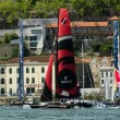 Participants compete in the Extreme Sailing Series — Stock Photo #11537185