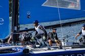 La vague - muscat participer au extreme sailing series — Photo