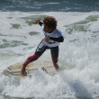 Participant in the Exile Skim Norte Open 2012 — Stock Photo