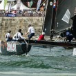 ZouLou compete in the Extreme Sailing Series — Stock Photo