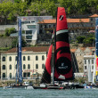 Participants compete in the Extreme Sailing Series — Stock Photo #11577545