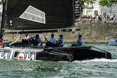Zoulou competere nella serie vela estrema — Foto Stock