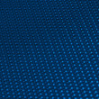 Royalty-Free Stock Photo: Blue metal mesh plating