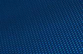 Blue metal mesh plating — Stock Photo