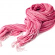 Warm scarf in pink — Stock Photo