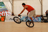 Manuel Valonero in the Flatland Field Control'07 — Foto de Stock