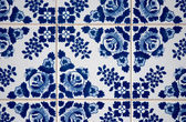 Tradizionale portoghese piastrelle smaltate — Foto Stock