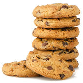 Chocolate chip cookies — Stock Photo