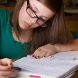 Girl doing Homework — Stock Photo #11420981