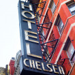 Chelsea Hotel New York - Stock Photo