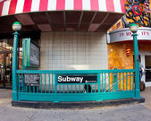 NYC 34th Street Subway — Stock Photo