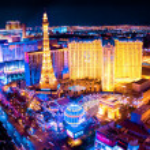 Las Vegas Night — Stock Photo