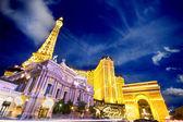 Landmark parijs hotel vegas — Stockfoto