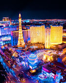 Las Vegas Night — Stockfoto