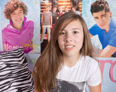 One Direction Music Fan — Stock Photo