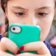 Texting Girl — Stock Photo #11972748