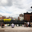 The High Line Park NYC — Stock Photo
