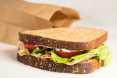 Lunch Sandwich — Stock Photo
