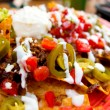 Stock Photo: Loaded nachos