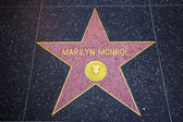 Marilyn Monroe Star — Stock Photo