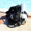Diving equipment — Stock Photo