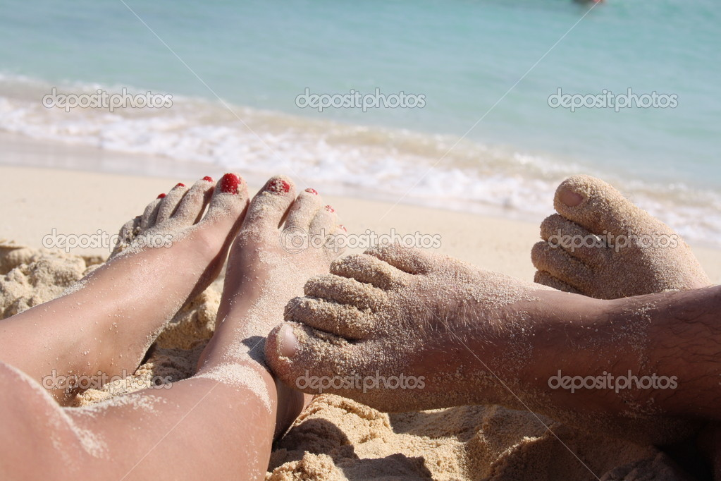 In the summer vacation and relax are — Stock Photo #11048504