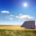 Solar generator — Stock Photo