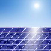 Soleil énergie-photovoltaïque — Photo