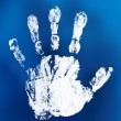 Mystical handprint — Stock Photo