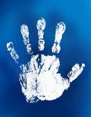 мистические отпечаток руки — Стоковое фото