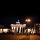 Berlin at night — Stock Photo