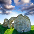 Stock Photo: Ruins of abandoned Pnivsky castle in Ukraine