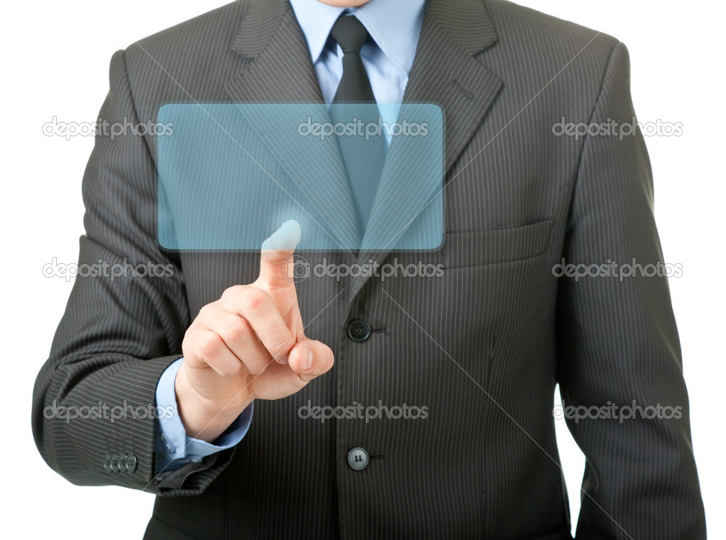 Man in office clothes on a white background  Stock Photo #11251793
