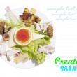 Royalty-Free Stock Photo: Creative salad