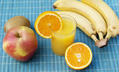 The fresh appetizing ripe fruit — Stock Photo