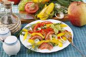 Appetitlich Salat — Stockfoto