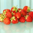 Fresh strawberries heap. — 图库照片