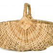 There is wicker basket — Stock Photo #10897382