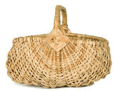 There is a wicker basket — Stock Photo