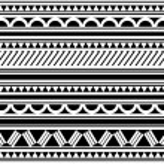 Polynesian Style tattoo bracelet — Stock Vector #11580878
