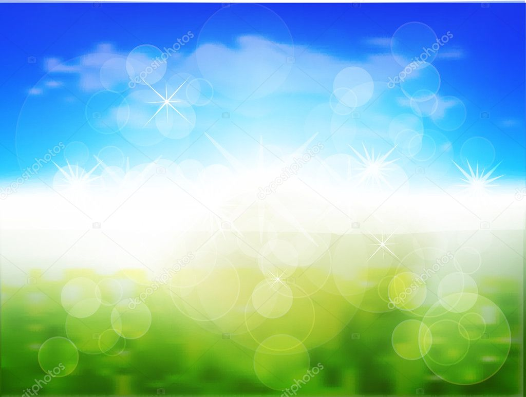 Spring Background — Stock Vector #11580794