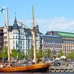 Waterfront Helsinki. — Stock Photo