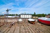 Dry dock. — Stock Photo